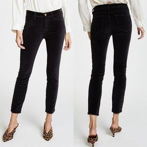 Frame Velvet Le High Waist Skinny Pants
